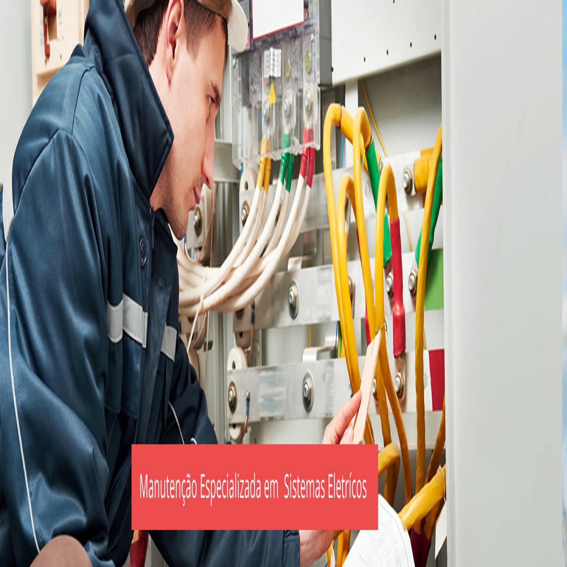 Manutenção Especializada em  Sistemas Eletrícos